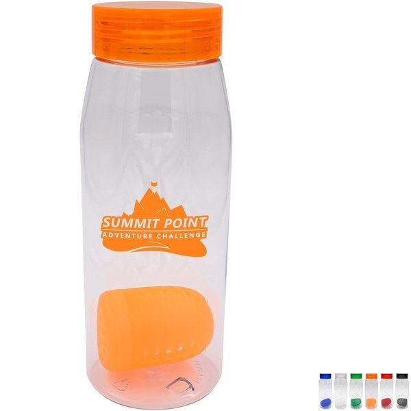 Clear View Bottle w/Floating Infuser, 32 oz.