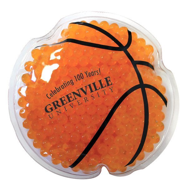 Basketball Gel Bead Hot & Cold Pack