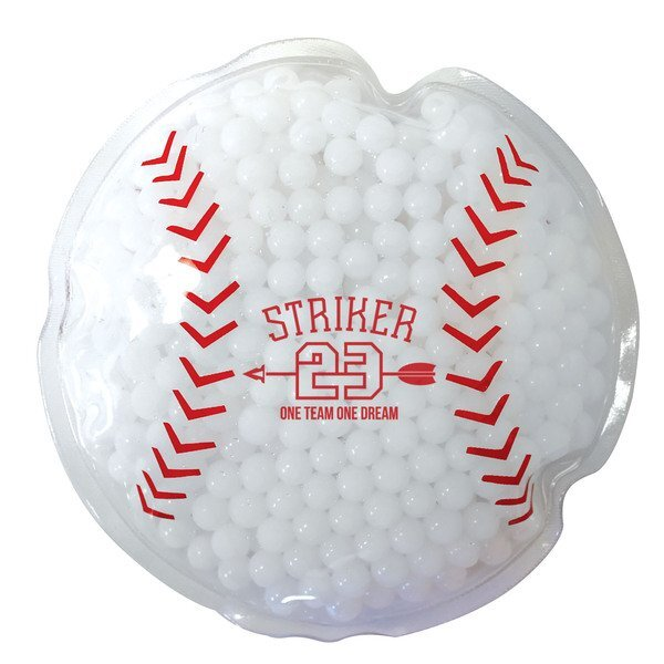 Baseball Gel Bead Hot & Cold Pack