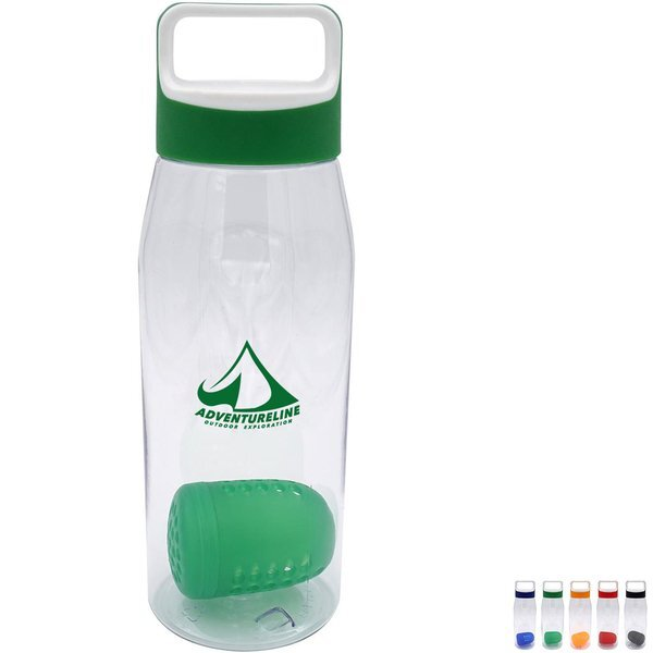 Boxy Bottle w/Floating Infuser, 32 oz.