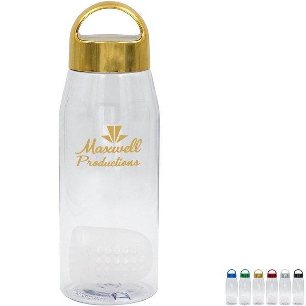 Metallic Arch Bottle w/Floating Infuser, 32 oz.