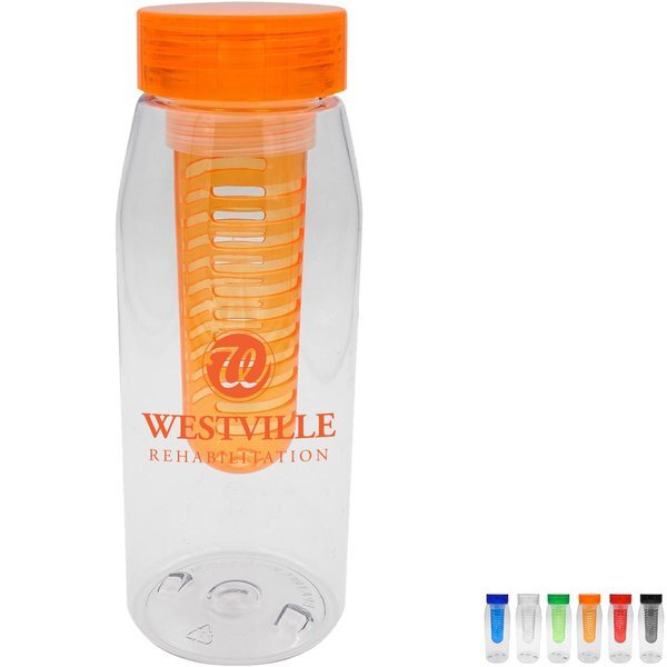 Clear View Bottle w/Infuser, 32 oz.