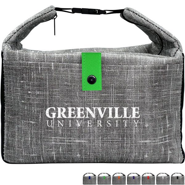 Gray Denim Lunch Cooler