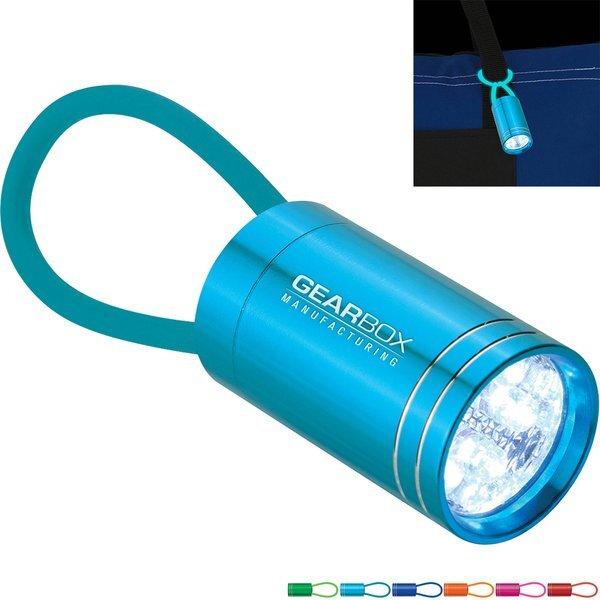 Glow in Dark Aluminum Mini Flashlight