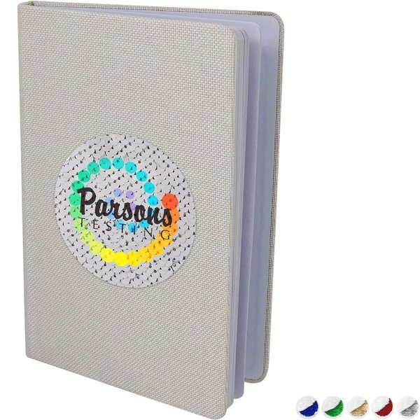 Vibrant Sequin Notebook
