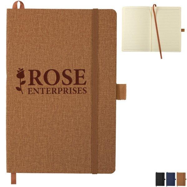 """Heathered Soft Bound JournalBook™, 8-1/2"""" X 5-1/2"""""""