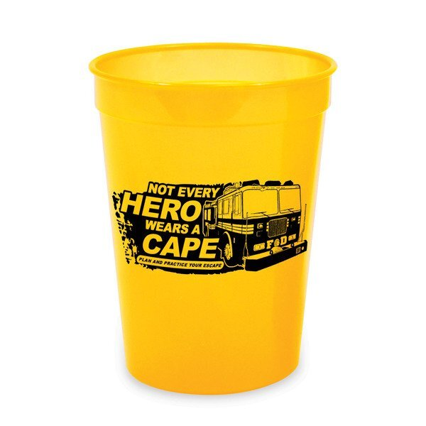 Not Every Hero Wears A Cape Stock Stadium Cup, 16oz.