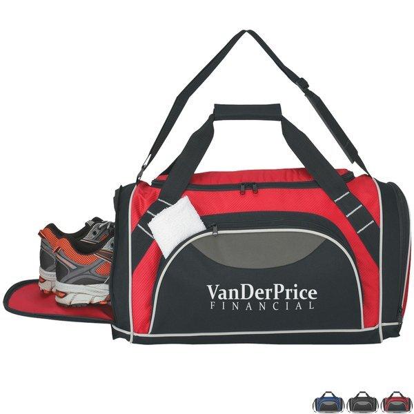 """Super Weekender Polyester Duffel Bag, 20"""""""