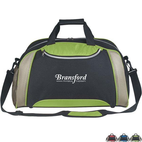 """Excel Polyester Duffel Bag, 20"""""""