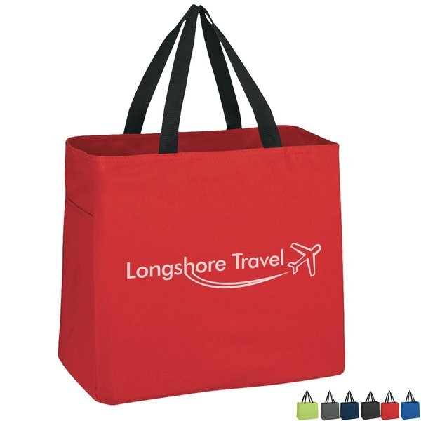 Cape Town Polyester Tote Bag