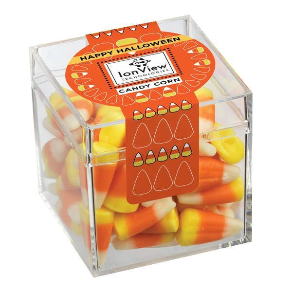 Creep Candy Box with Candy Corn