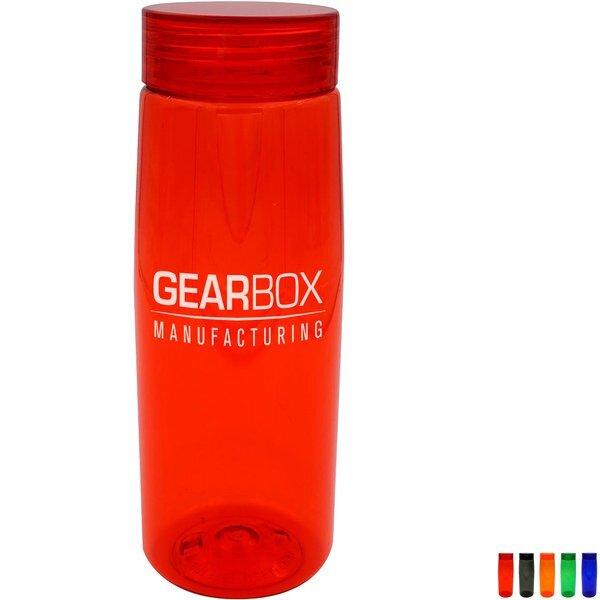 Clear View Colorful Contour Bottle, 25 oz.