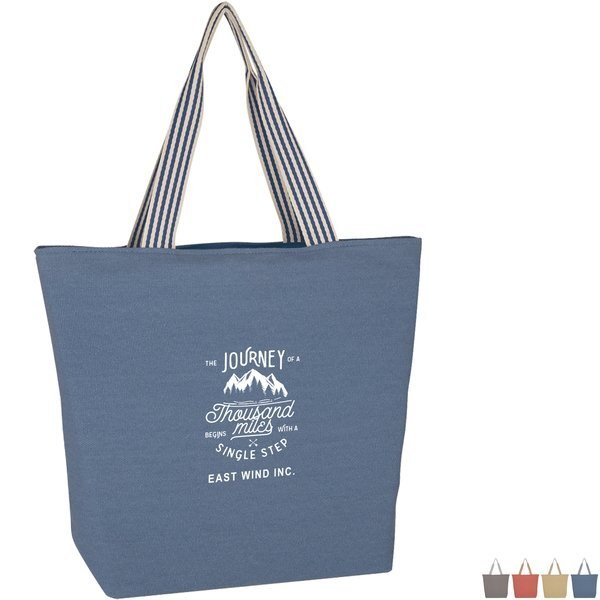Boulevard Cotton Tote Bag