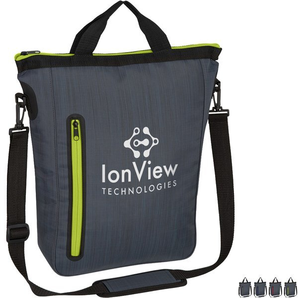 Water-Resistant Nylon Sleek Tote Bag