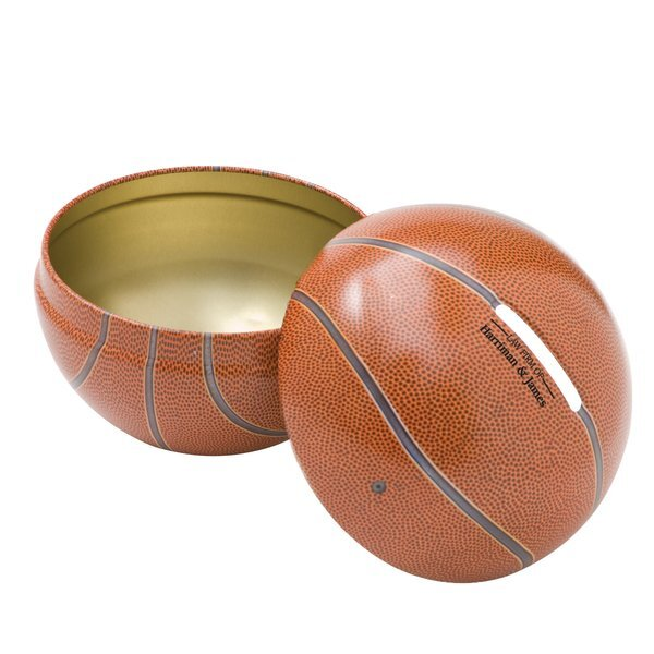 Basketball Tin Bank