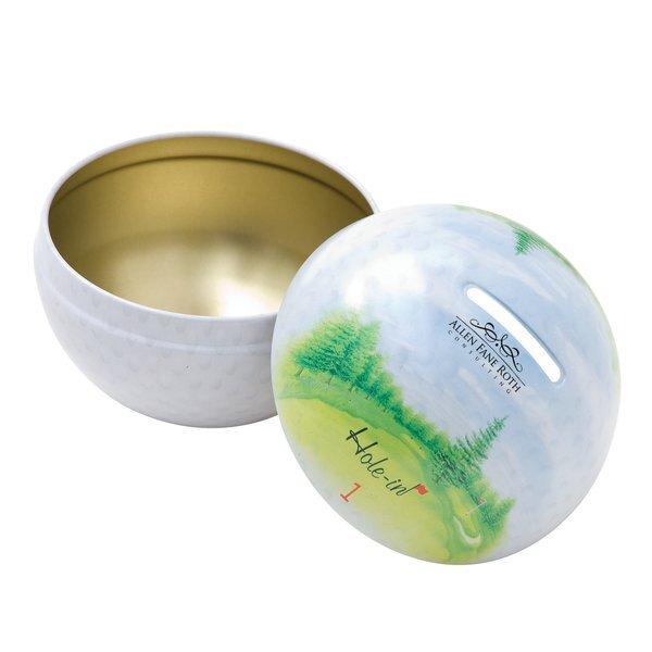 Golf Tin Bank