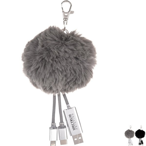 Pom Puff 3-in-1 Charging Cable
