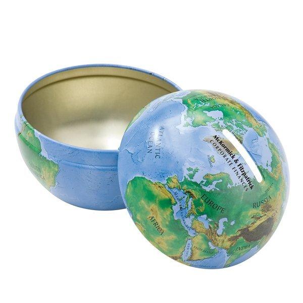 World Globe Tin Bank