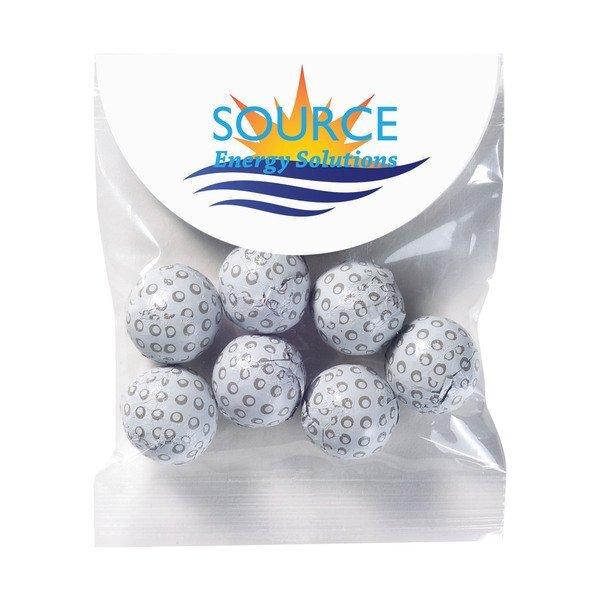 Header Bag w/ Chocolate Golf Balls