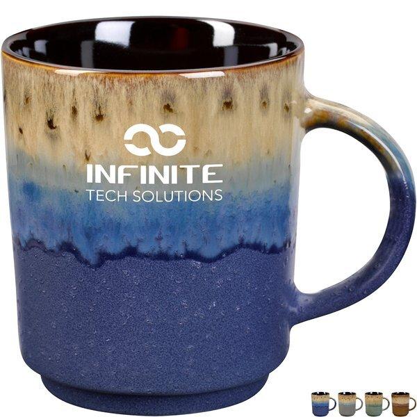 Apache Ceramic Dipped Mug, 16oz.