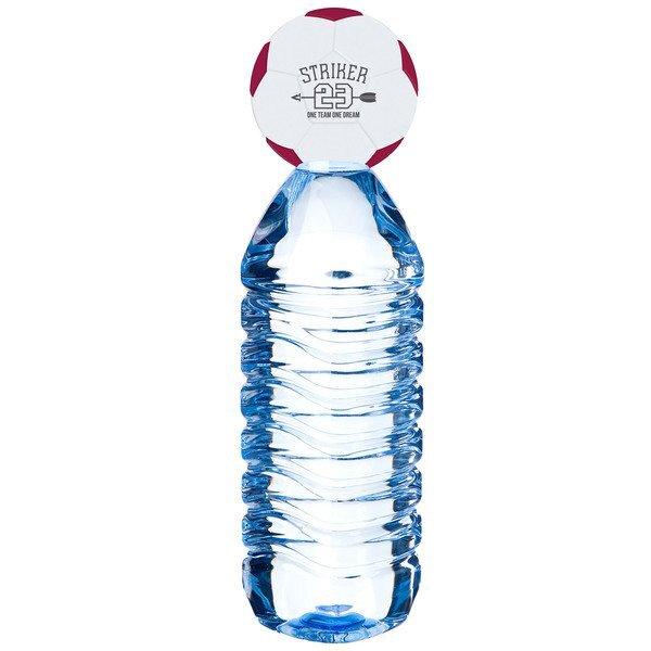 Soccer Ball Foam Bottle Topper