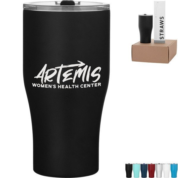 Summit Tumbler & Straw Gift Set in Kraft Box