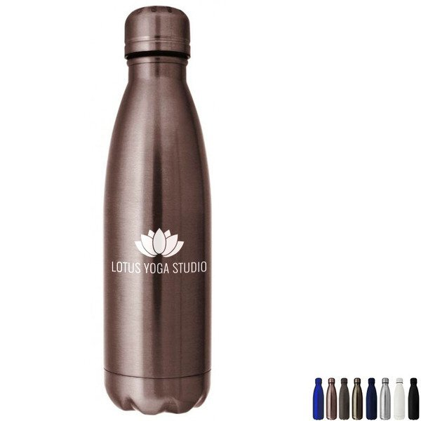 Hydro-Soul Copper Lined Stainless Steel Bottle, 17oz.
