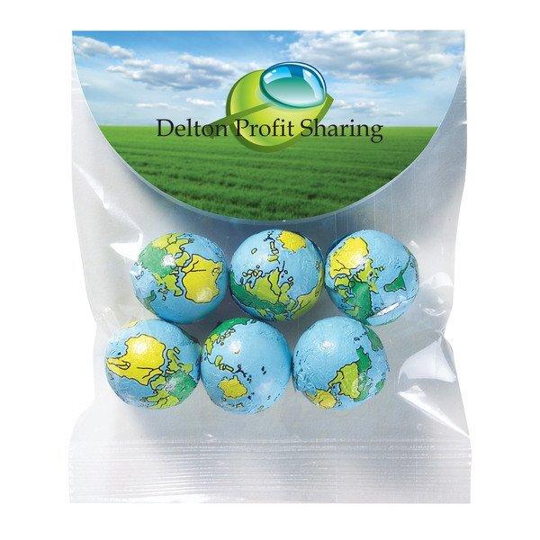 Header Bag w/ Chocolate Earth Balls