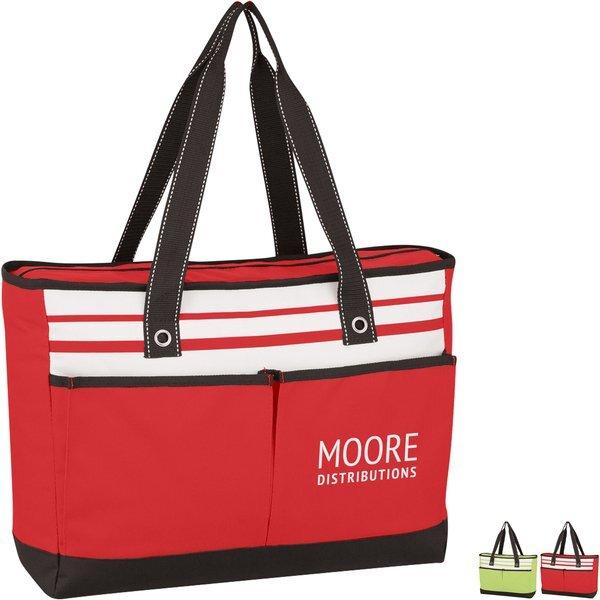 Fashionable Polyester Roomy Tote Bag