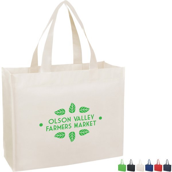 Colorful Matte Laminated Non-Woven Shopper Tote