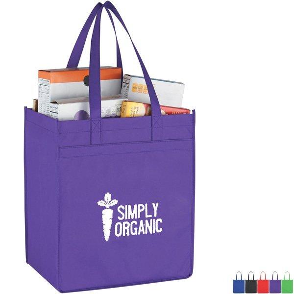 Market Non-Woven Shopper Tote Bag