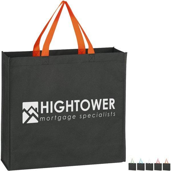 Bright Handle Non-Woven Tote Bag