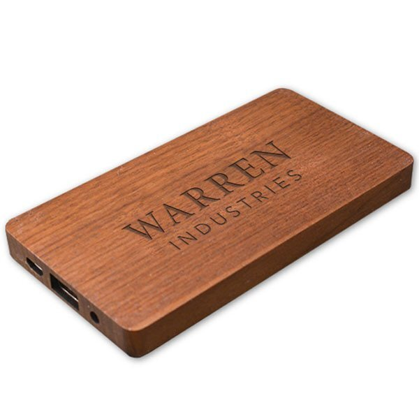 Sequoia Wood Power Bank, 4,000mAh