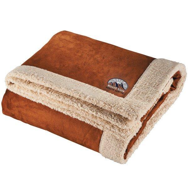 """Appalachian Sherpa Blanket, 50"""" x 60"""""""