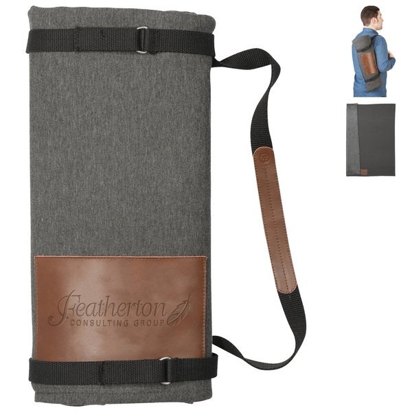 "Alternative Roll Up Blanket with Carrying Strap, 60"" x 70"""