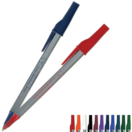 Paper Mate® WriteBros® Stick Pen- Silver Barrel