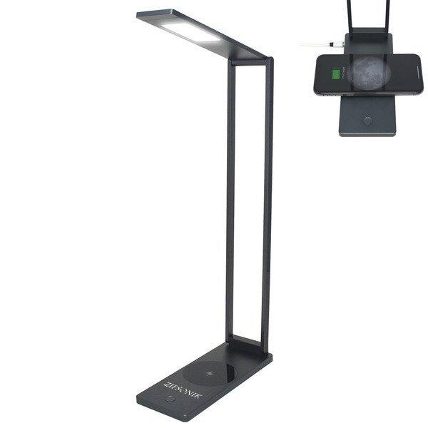 Polaris Qi Wireless Charger & LED Reading Light