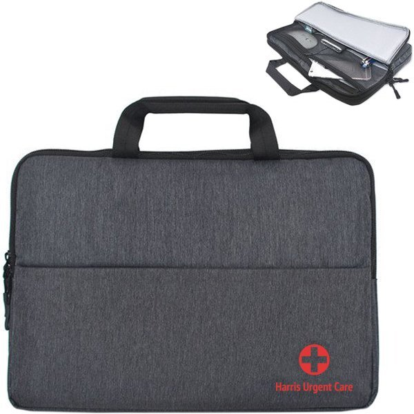 Newport Polyester Laptop Brief, 13""