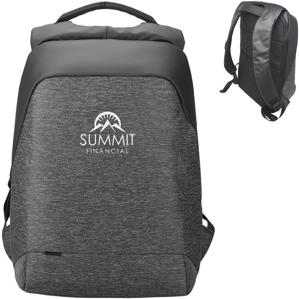 "Fort Knox Anti-Theft 15"" Polyester Laptop Backpack"