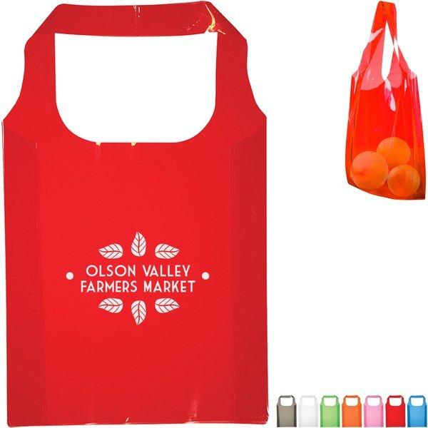 Expression Translucent PVC Tote Bag