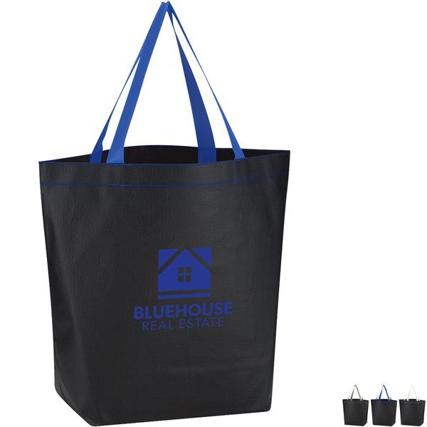 Non-Woven Leather-Look Tote