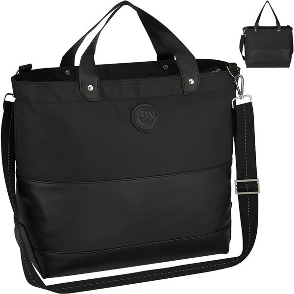 Luxury PVC Leather Traveler Tote Bag