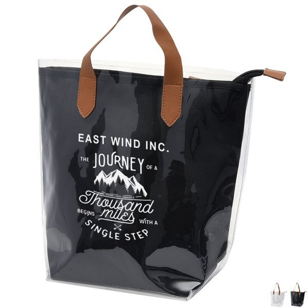Accord Clear PVC Tote Bag w/ Removable Pouch