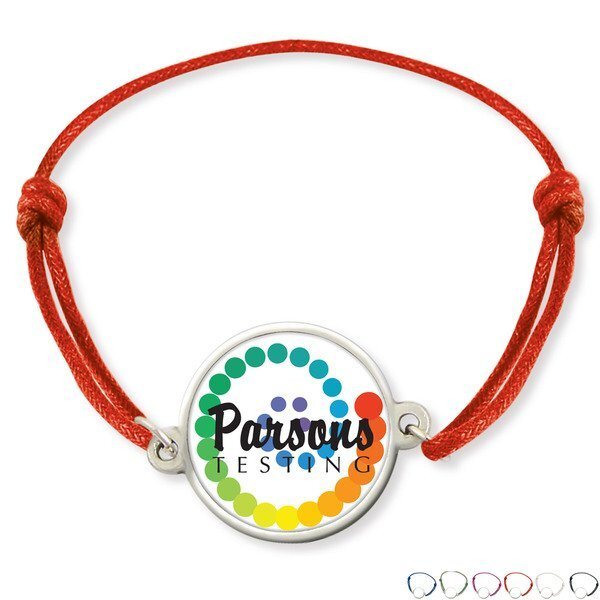 Friendship Bracelet w/ Full Color Imprint