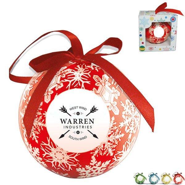 Snowflake Shatterproof Ball Holiday Ornament