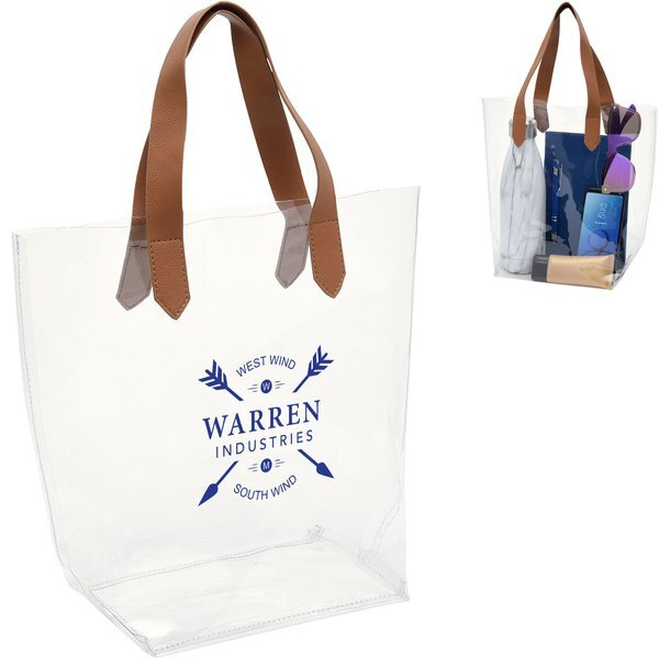 Accord Clear PVC Tote Bag