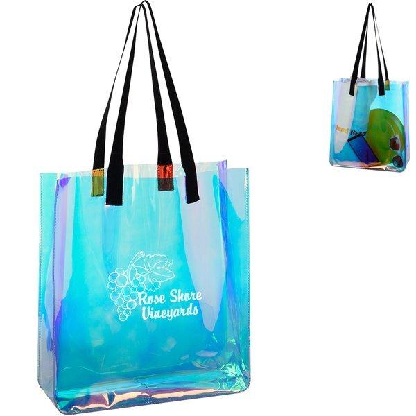 Hologram Iridescent PVC Tote Bag