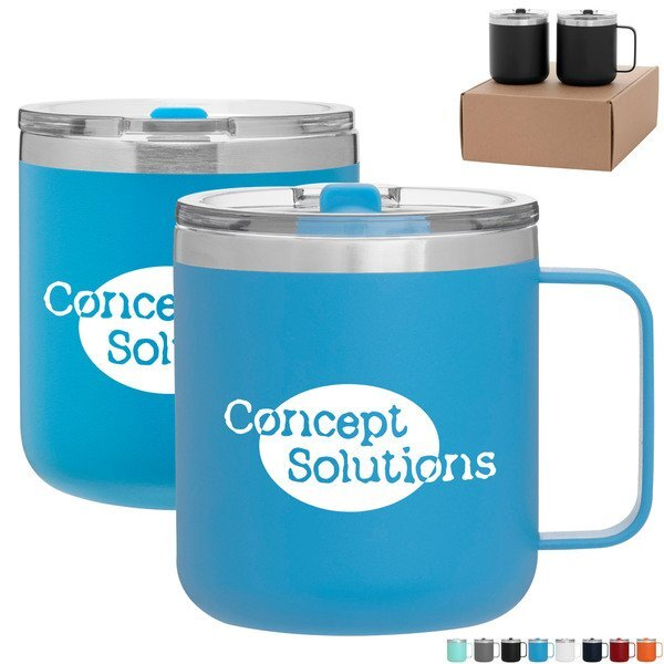 Spark & Camper Tumbler Gift Set in Kraft Gift Box