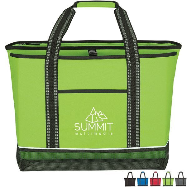 Daytona Polyester Cooler Tote Bag
