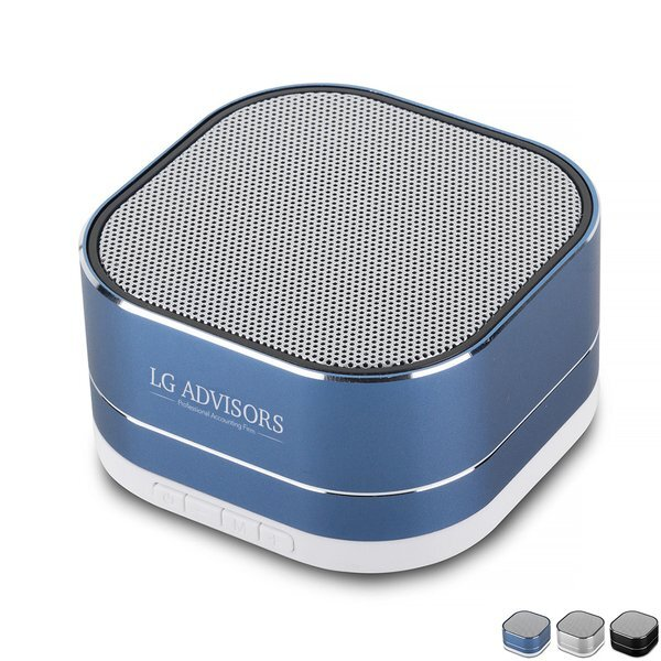Aluminum Portable Bluetooth® Speaker
